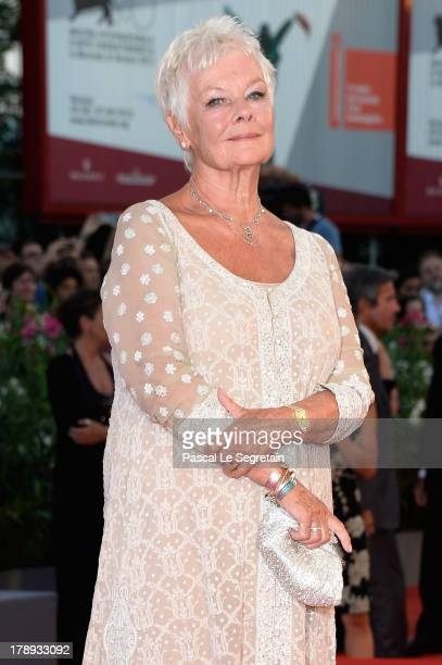 Actress Judi Dench attends the 'Philomena' Premiere during The 70th Venice International Film Festival at the Palazzo del Casino on August 31 2013 in...