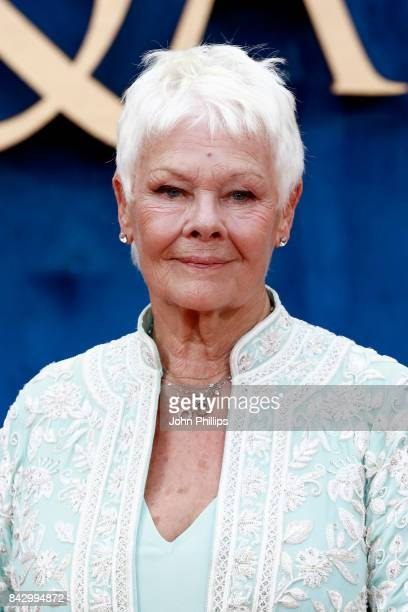 Actress Judi Dench attends the 'Victoria Abdul' UK premiere held at Odeon Leicester Square on September 5 2017 in London England