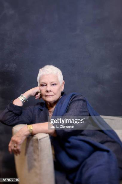 Actress Judi Dench of Victoria and Abdul is photographed for Los Angeles Times on September 20 2017 in Los Angeles California PUBLISHED IMAGE CREDIT...