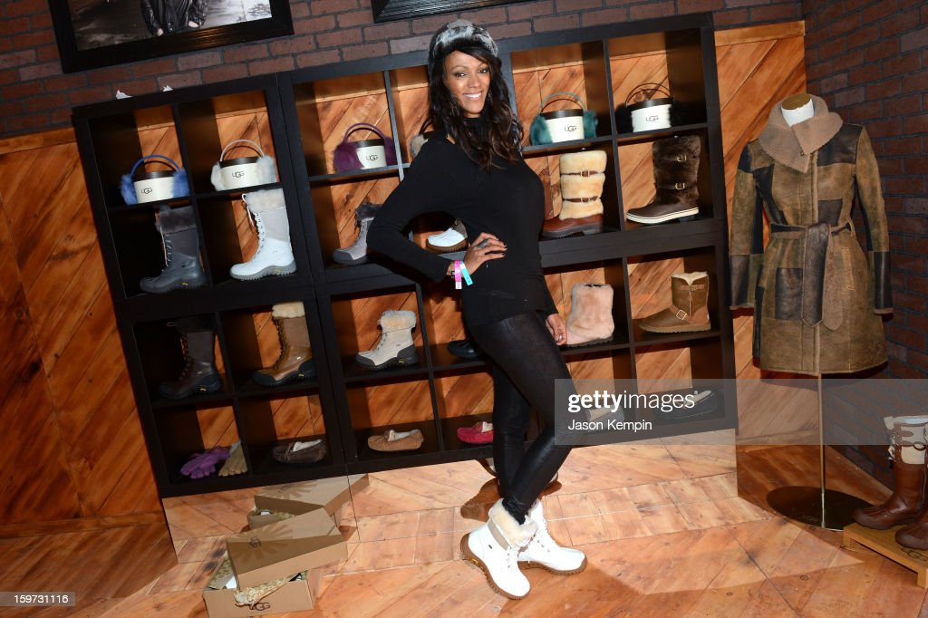 Actress Judi Shekoni attends Day 2 of UGG at Village At The Lift 2013 on January 19, 2013 in Park City, Utah.