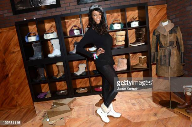 Actress Judi Shekoni attends Day 2 of UGG at Village At The Lift 2013 on January 19 2013 in Park City Utah