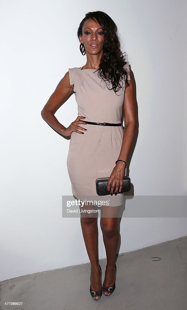 Actress Judi Shekoni attends the Alexander Yulish 'An Unquiet Mind' VIP opening reception at KM Fine Arts LA Studio on March 8, 2014 in Los Angeles, California.