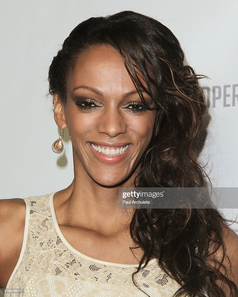 Actress Judi Shekoni attends the Dream Builders project's 'A Brighter Future For Children' benefit at H.O.M.E. on March 15, 2014 in Beverly Hills, California.