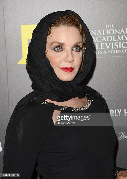 Actress Judith Chapman arrives at The 39th Annual Daytime Emmy Awards broadcasted on HLN held at The Beverly Hilton Hotel on June 23 2012 in Beverly...