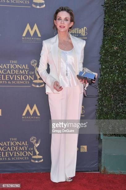 Actress Judith Chapman arrives at the 44th Annual Daytime Emmy Awards at Pasadena Civic Auditorium on April 30 2017 in Pasadena California