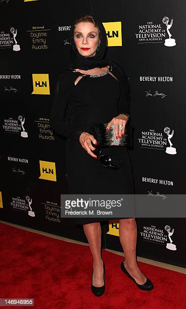 Actress Judith Chapman attends the 39th Annual Daytime Entertainment Emmy Awards at The Beverly Hilton Hotel on June 23 2012 in Beverly Hills...