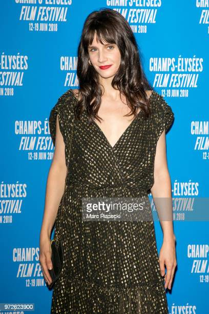 Actress Judith Chemla attends the 7th Champs Elysees Film Festival at Cinema Gaumont Marignan on June 12 2018 in Paris France