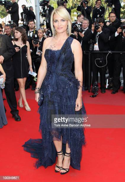 Actress Judith Godrech attends the Palme d'Or Closing Ceremony held at the Palais des Festivals during the 63rd Annual International Cannes Film...