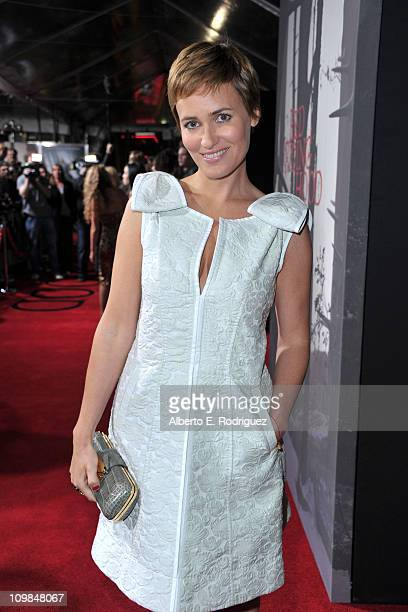 Actress Judith Godreche arrives at premiere of Warner Bros Pictures' Red Riding Hood at Grauman's Chinese Theatre on March 7 2011 in Hollywood...