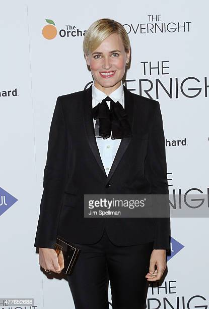 Actress Judith Godreche attends 'The Overnight' New York premiere at Landmark's Sunshine Cinema on June 18 2015 in New York City