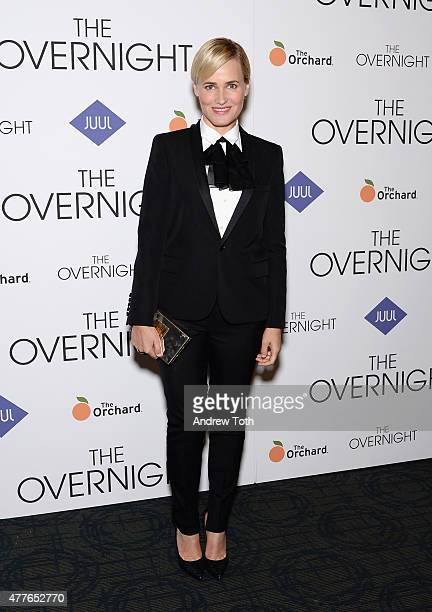 Actress Judith Godreche attends 'The Overnight' New York Premiere at Sunshine Landmark on June 18 2015 in New York City