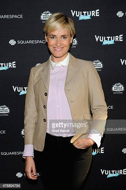 Actress Judith Godreche attends Vulture Festival Stella Artois Present Screening of 'The Overnight' and Discussion with Jason Schwartzman Judith...
