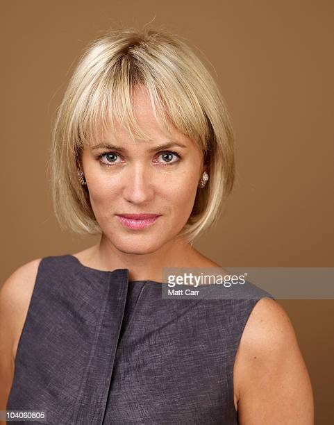 Actress Judith Godreche from Potiche poses for a portrait during the 2010 Toronto International Film Festival in Guess Portrait Studio at Hyatt...