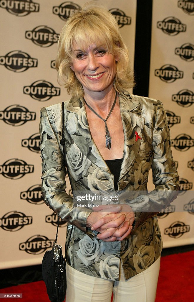 Actress Judith Lang attends the opening night gala of 'Outfest 2004: The 22nd L.A. Gay and Lesbian Film Festival' on July 8, 2004 at the Orpheum Theatre, in Los Angeles, California.