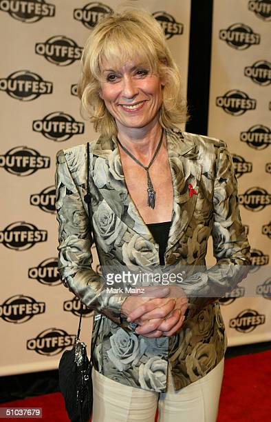 Actress Judith Lang attends the opening night gala of Outfest 2004 The 22nd LA Gay and Lesbian Film Festival on July 8 2004 at the Orpheum Theatre in...