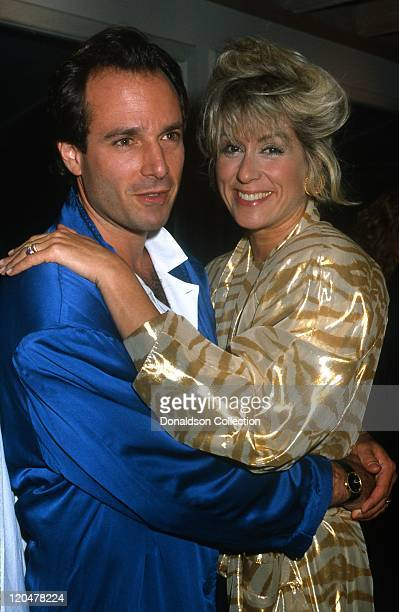Actress Judith Light and her husband actor Robert Desiderio attend an event circa 1987 in Los Angeles California