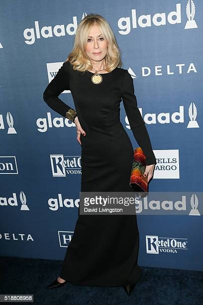 Actress Judith Light arrives at the 27th Annual GLAAD Media Awards at The Beverly Hilton Hotel on April 2 2016 in Beverly Hills California