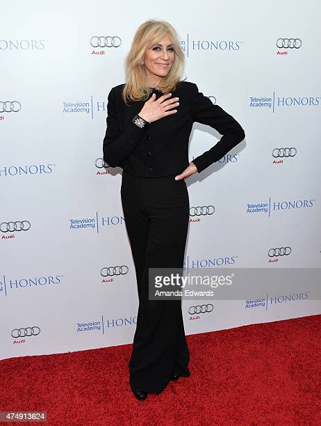 Actress Judith Light arrives at the 8th Annual Television Academy Honors at the Montage Beverly Hills on May 27 2015 in Beverly Hills California