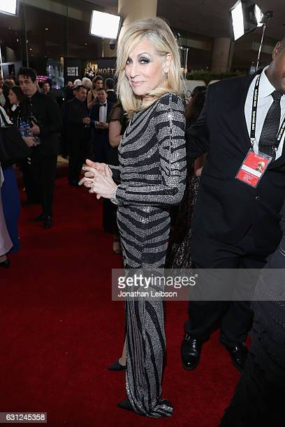 Actress Judith Light at the 74th annual Golden Globe Awards sponsored by FIJI Water at The Beverly Hilton Hotel on January 8 2017 in Beverly Hills...