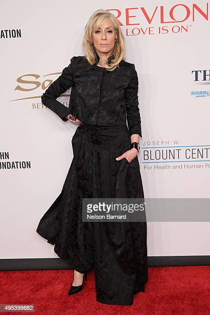 Actress Judith Light attends Elton John AIDS Foundation's 14th Annual An Enduring Vision Benefit at Cipriani Wall Street on November 2 2015 in New...
