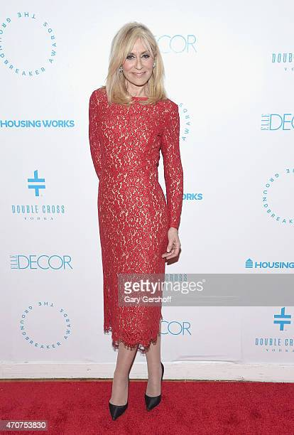 Actress Judith Light attends the 2015 Housing Works Groundbreaker Awards at Metropolitan Pavilion on April 22 2015 in New York City