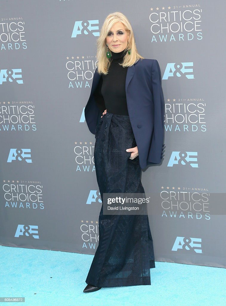 Actress Judith Light attends The 21st Annual Critics' Choice Awards at Barker Hangar on January 17, 2016 in Santa Monica, California.