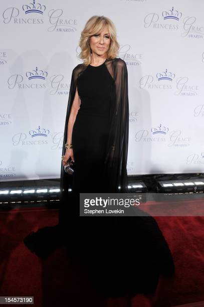 Actress Judith Light attends the 30th anniversary Princess Grace awards gala at Cipriani 42nd Street on October 22 2012 in New York City
