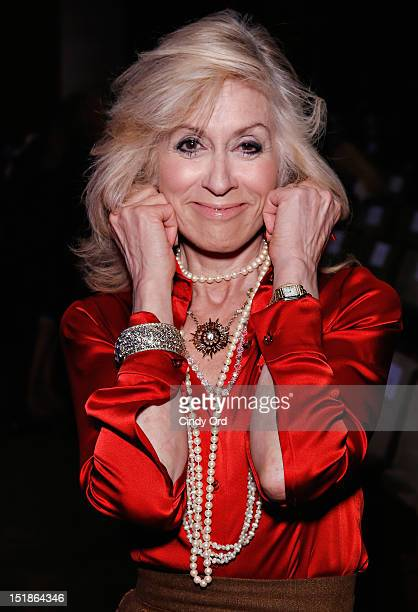 Actress Judith Light attends the Douglas Hannant spring 2013 fashion show during MercedesBenz Fashion Week at the New York Historical Society on...