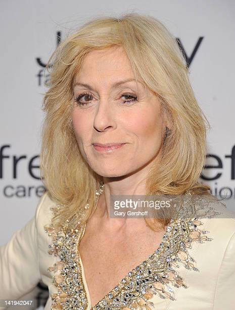 Actress Judith Light attends the Jeffrey Fashion Cares 2012 at the Intrepid Aircraft Carrier on March 26 2012 in New York City