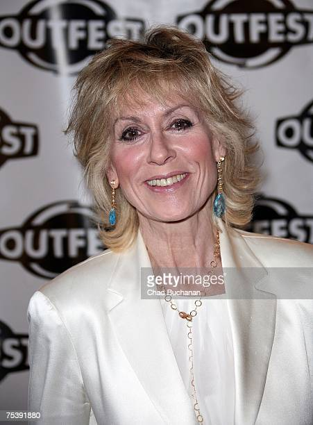 Actress Judith Light attends the opening night gala of OUTFEST 2007 at the Orpheum Theater on July 12 2007 in Los Angeles California