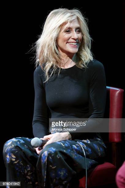 Actress Judith Light speaks on stage during SAGAFTRA Foundation Conversations The Assassination Of Gianni Versace American Crime Story at The Robin...