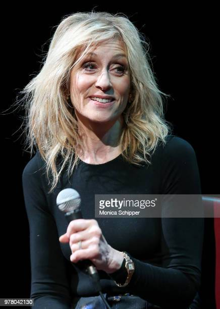 Actress Judith Light speaks on stage during SAGAFTRA Foundation Conversations 'The Assassination Of Gianni Versace American Crime Story' at The Robin...