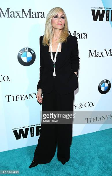 Actress Judith Light wearing Max Mara attends the Women In Film 2015 Crystal Lucy Awards at the Hyatt Regency Century Plaza on June 16 2015 in...