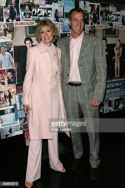 Actress Judith Light with husband Robert Desiderio attend the premiere of Elizabethtown at the Loews Lincoln Square theatre October 10 2005 in New...