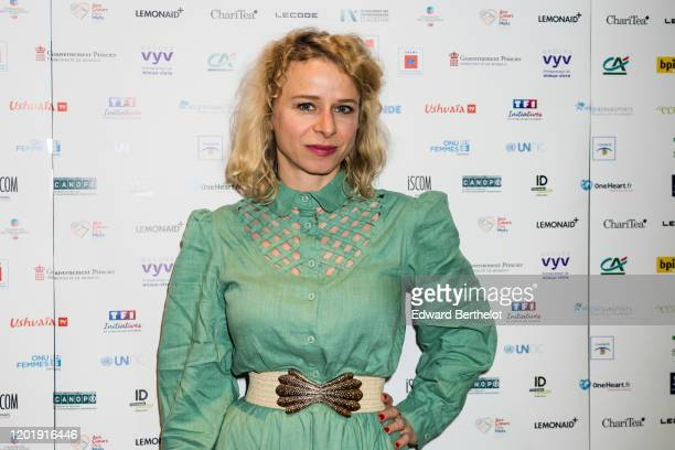 Actress Judith Margolin attends the Le temps Presse Festival Closing Ceremony photocall At UGC LyonBastille In Paris on January 24 2020 in Paris...