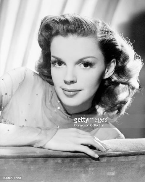 Actress Judy Garland in a scene from the movie Presenting Lily Mars