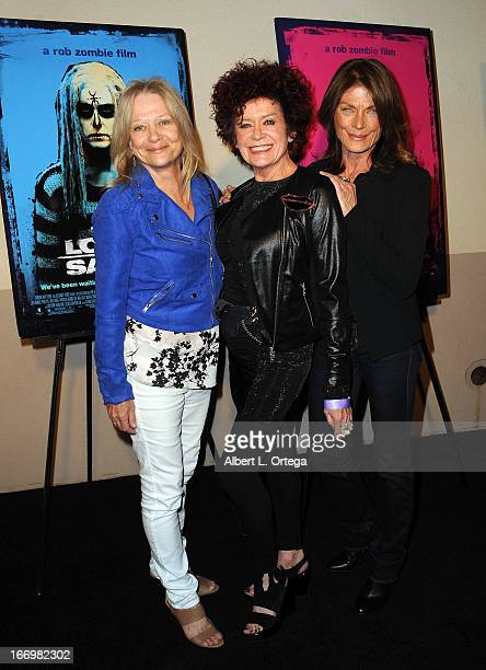 Actress Judy Geeson actress Patricia Quinn and actress Meg Foster arrive for Fan Screening Of Anchor Bay Films' Rob Zombie's The Lords Of Salem...