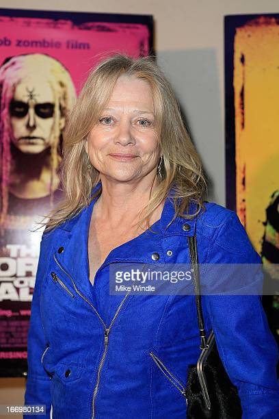Actress Judy Geeson arrives at Rob Zombie's The Lords Of Salem Los Angeles premiere at AMC Burbank 16 on April 18 2013 in Burbank California