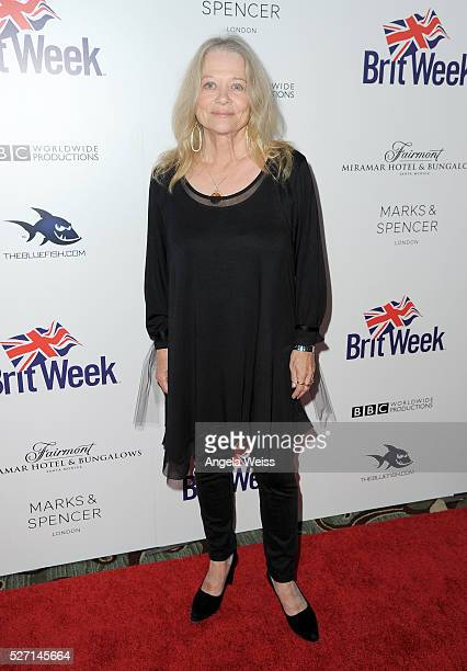 Actress Judy Geeson attends BritWeek's 10th Anniversary VIP Reception Gala at Fairmont Hotel on May 1 2016 in Los Angeles California