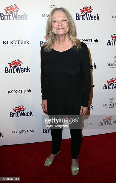 Actress Judy Geeson attends BritWeek's 10th Anniversary with a performance of Muder Lust and Madness at the Wallis Annenberg Center for the...