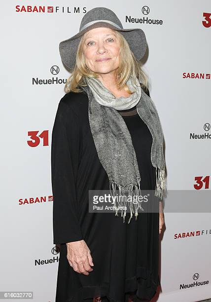 Actress Judy Geeson attends the premiere of 31 at NeueHouse Hollywood on October 20 2016 in Los Angeles California