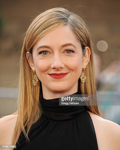 Actress Judy Greer arrives at the 2015 Los Angeles Film Festival opening night premiere of Grandma at Regal Cinemas LA Live on June 10 2015 in Los...