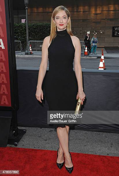 Actress Judy Greer arrives at the 2015 Los Angeles Film Festival opening night premiere of 'Grandma' at Regal Cinemas L.A. Live on June 10, 2015 in...