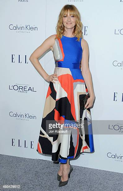 Actress Judy Greer arrives at the 22nd Annual ELLE Women In Hollywood Awards at Four Seasons Hotel Los Angeles at Beverly Hills on October 19, 2015...