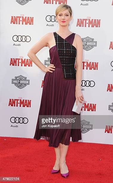 Actress Judy Greer arrives at the Los Angeles Premiere 'AntMan' at Dolby Theatre on June 29 2015 in Hollywood California