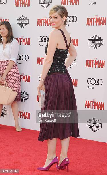 "Actress Judy Greer arrives at the Los Angeles Premiere ""Ant-Man"" at Dolby Theatre on June 29, 2015 in Hollywood, California."