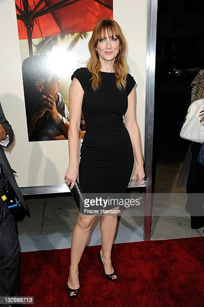 Actress Judy Greer arrives at the Premiere Of Fox Searchlight's The Descendants at AMPAS Samuel Goldwyn Theater on November 15 2011 in Beverly Hills...