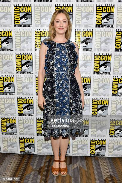 Actress Judy Greer at FX's 'Archer' Press Line during ComicCon International 2017 at Hilton Bayfront on July 21 2017 in San Diego California