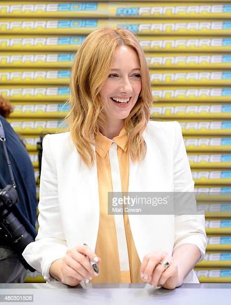 Actress Judy Greer attends Comic-Con International 2015 on July 10, 2015 in San Diego, California.