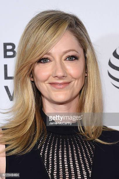 Actress Judy Greer attends the Elvis Nixon Premiere during the 2016 Tribeca Film Festival at BMCC John Zuccotti Theater on April 18 2016 in New York...
